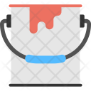 Paint Bucket Wall Icon