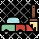 Paint Car Icon
