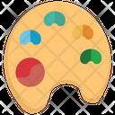 Paint color palette Icon