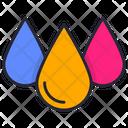 Paint Drops Icon