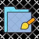 Paint Folder Icon