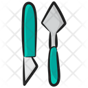Paint Dagger Art Blades Paint Knivs Icon