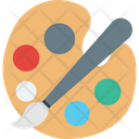 Art Artist Paint Brush Icon