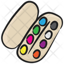 Paint Palette Water Color Color Palette Icon