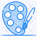 Paint Palette Paint Bold Painting Tool Icon