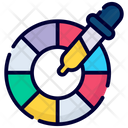 Palette Color Pipette Icon