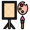 Paint Palette School Study Icon