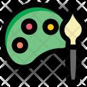 Paint pallet Icon