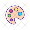 Paint pallete Icon