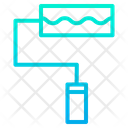 Roller Pain Paint Tool Icon