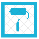 Roller Paint Wall Icon