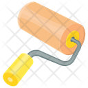 Paint Roller Rolling Icon