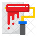 Paint Roller Paint Brush Icon