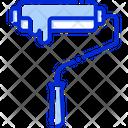 Paint Roller Decoration Paint Icon