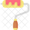 Paint Roller Home Repair Painter Icon
