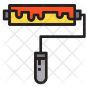 Paint Roller Paint Tool Icon
