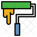 Paint Roller Painter Home Repair Icon