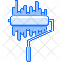 Paint Roller Wall Icon