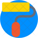 Roller Paint Brush Icon