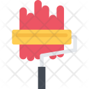 Paint Roller Builder Icon