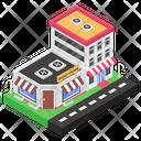 Paint Shop Paint Store Retail Shop Icon
