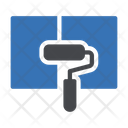 Painter Roller Construction Icon