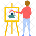 Artist Canvas Art Icon