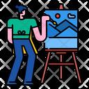 Painter Artist Paint Icon