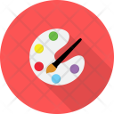 Painting Tools Design Icon