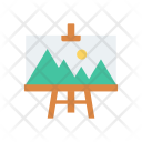 Drawing Picture Board Icon