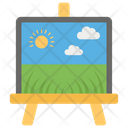 Painting Scenery Painting Field Icon