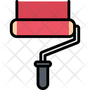 Paint Roller Building Icon