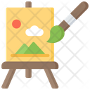 Painting Art Pastime Icon
