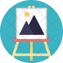 Scenic Painting Canvas Icon