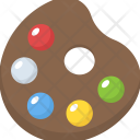 Painting Palette Artist Icon