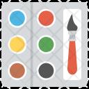 Paint Palette Art Icon