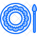 Painting Dish Plate Icon