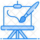 Painting Canvas Artwork Icon