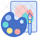 Painting Paint Colors Icon