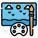 Paint Picture Drawing Icon