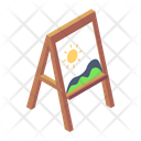 Painting Landscape Painting Painting Board Icon