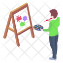 Artwork Painting Drawing Icon
