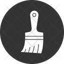 Painting Brush Renovation Hand Tool Icon