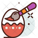 Painting Egg Painting Egg Icon
