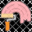 Paint Roller Design Icon