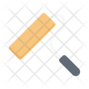 Roller Paint Color Icon