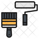 Brush Paint Color Icon