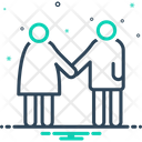 Pair Couple Dyad Icon