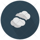 Pair Of Clouds Icon