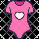 Child Pajamas Clothes Icon